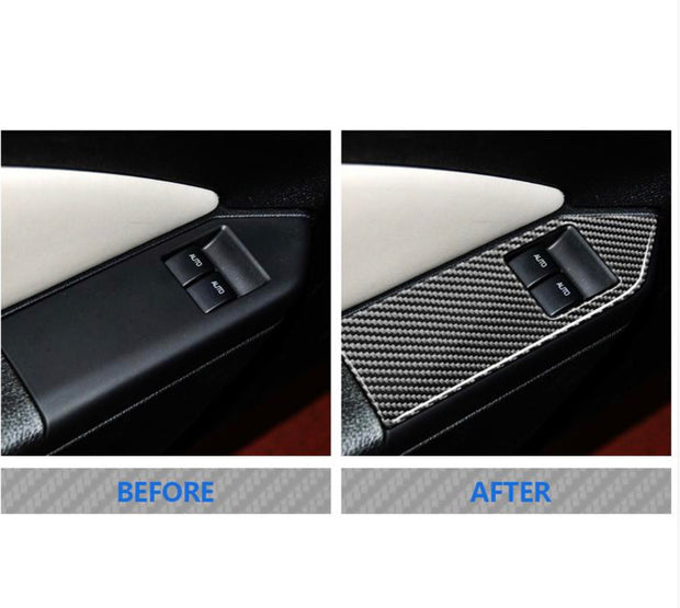 2010-2014 Mustang Carbon Fiber Window Control Trim