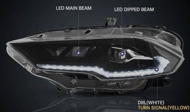 2018+ Mustang Headlight V2