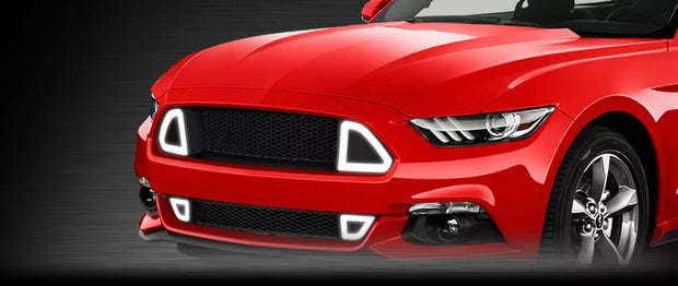 2015-2017 Mustang Led Grille