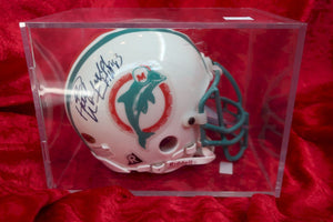 Paul Warfield Dolphins Autographed Certified Authentic Football Mini Helmet