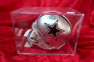 Larry Allen Cowboys Autographed Certified Authentic Football Mini Helmet