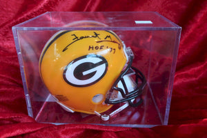 Forrest Gregg Packers Autographed  Football Mini Helmet