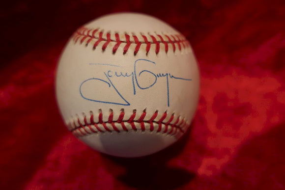 Tony Gwynn Certified Authentic Autographed Baseball