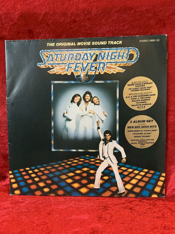 Bee Gees- Saturday Night Fever Soundtrack 33 LP Album