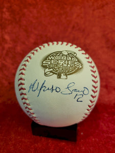 Alfonso Soreano Guaranteed Authentic Autographed Baseball