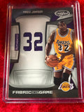 Magic Johnson Lakers Certified Authentic Autographed Basketball Court Shadowbox