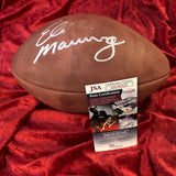 Eli Manning New York Giants Certified Authentic Autographed Football