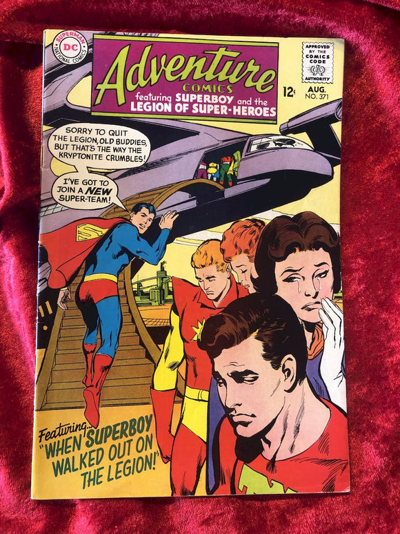 Adventure Comics #371 1968 Comic Book