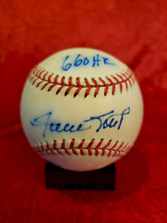 Willie Mays Certified Authentic Autographed Baseball