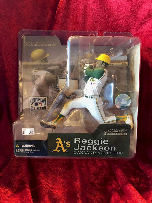Reggie Jackson McFarlane MLB Cooperstown Collection Series 1 Baseball Figure