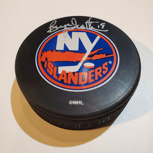 Bryan Trottier Certified Authentic Autographed Hockey Puck