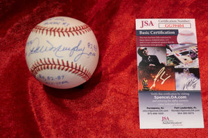 Dale Murphy Certified Authentic Autographed Baseball