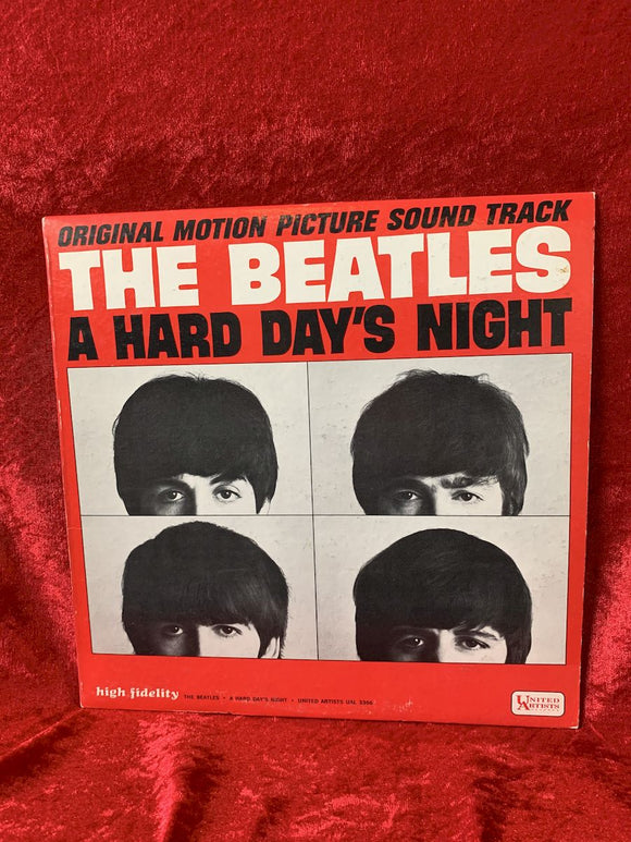 Beatles A Hard Days Night 33 LP Album
