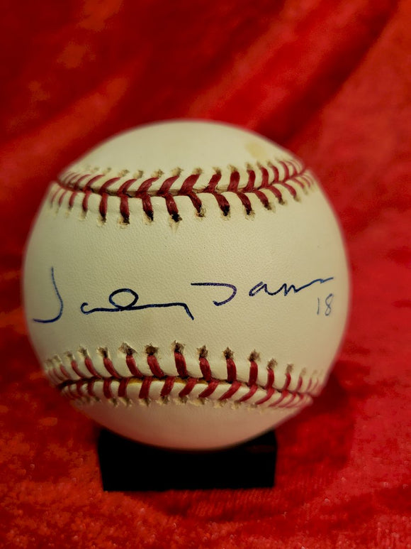 Johnny Damon Guaranteed Authentic Autographed Baseball