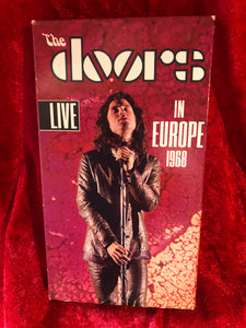 The Doors- Live in Europe 1968 VHS Tape