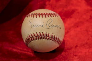 Ernie Banks Certified Authentic Autographed Baseball