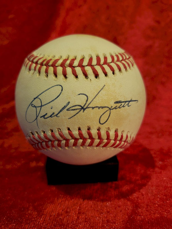 Rick Honeycutt Guaranteed Authentic Autographed Baseball