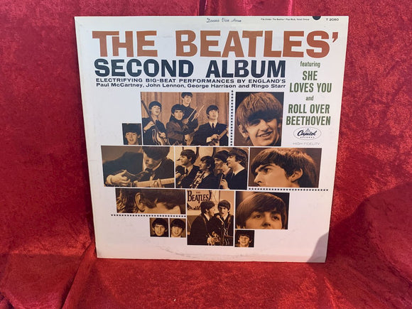 Beatles Second Album 33 LP Album