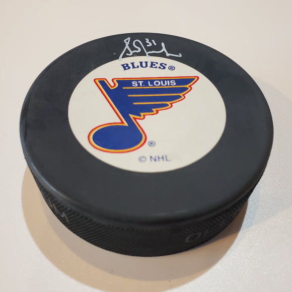 Grant Fuhr Guaranteed Authentic Autographed Hockey Puck
