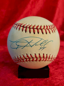 Toby Hall Guaranteed Authentic Autographed Baseball