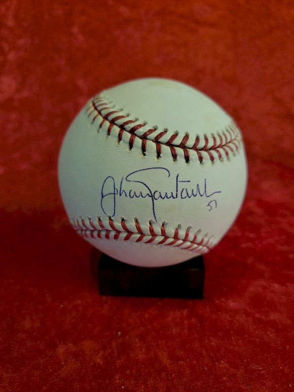 Johan Santana Certified Authentic Autographed Baseball