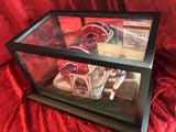 Thurman Thomas Bills Certified Authentic Autographed Mini Helmet Shadowbox