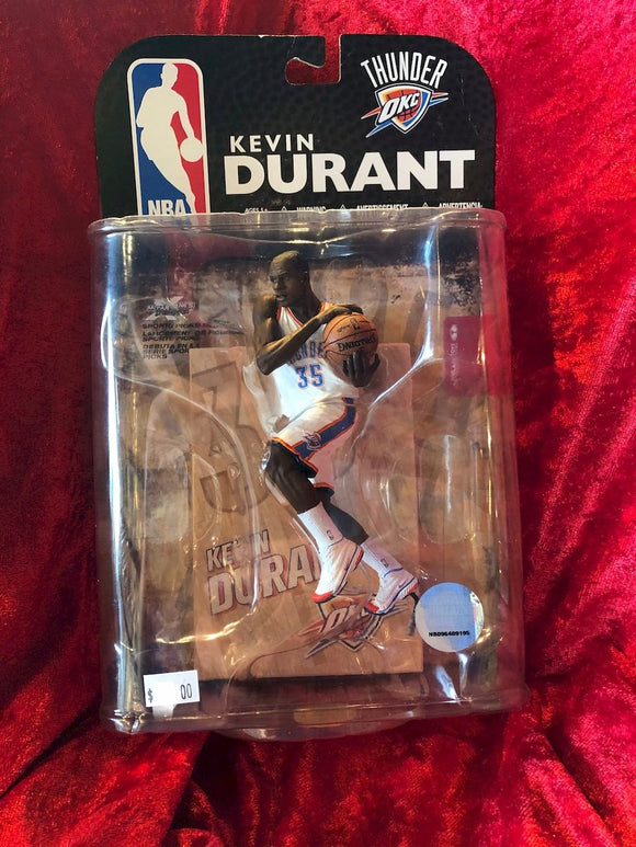 Kevin Durant McFarlane NBA Wave 1 Series 2009 Basketball Figure