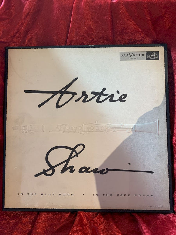 Artie Shaw In the Blue Room/ In the Café Rouge 33 LP Album
