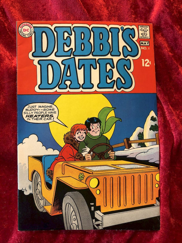 Debbi's Dates #1 1969 Comic Book