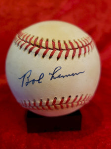Bob Lemon Certified Authentic Autographed Baseball