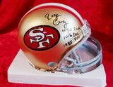 Roger Craig 49ers Certified Authentic Autographed Football Mini Helmet