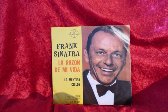 Frank Sinatra My Way Of Life 45 Single