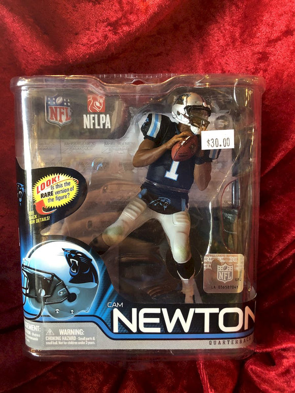 Cam Newton McFarlane NFL Series 31 Football Figure