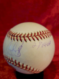 Juan Gonzales Certified Authentic Autographed Baseball