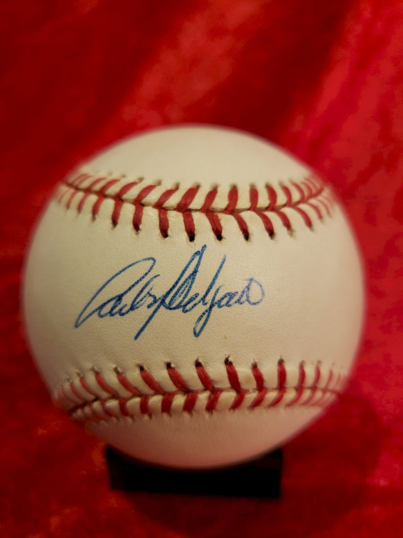 Carlos Delgado Certified Authentic Autographed Baseball