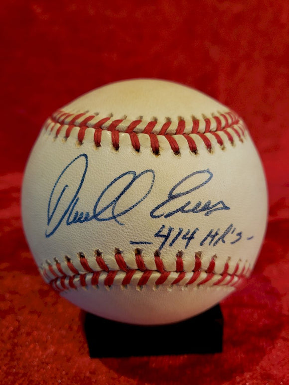 Darrell Evans Guaranteed Authentic Autographed Baseball