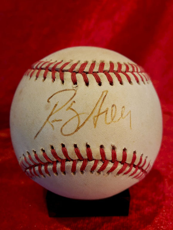 Rusty Greer Guaranteed Authentic Autographed Baseball