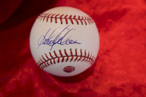 Garret Anderson Certified Authentic Autographed Baseball