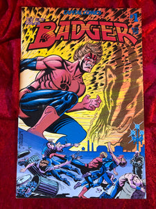 Badger #1-  First Publishing- 1983- Comic Book