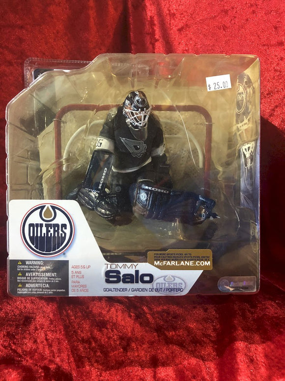 Tommy Salo McFarlane NHL Series 4 Hockey Figure