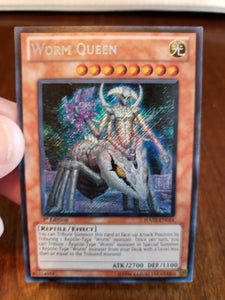 Worm Queen HA02-EN054 Secret Rare 1st Edition Yugioh Card