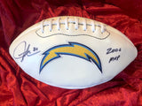 Ladainian Tomlinson San Diego Chargers Certified Authentic Autographed Football