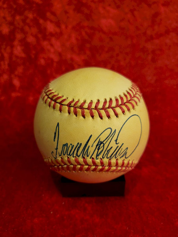 Frank Robinson Certified Authentic Autographed Baseball