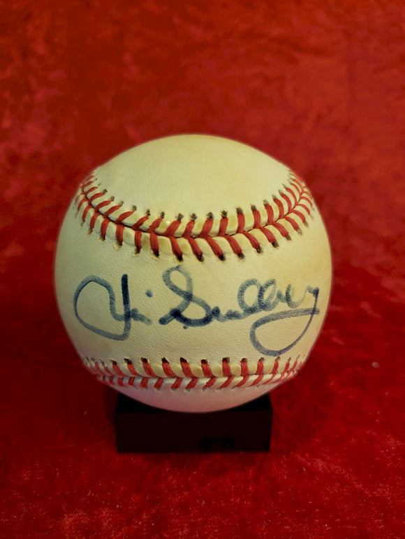 Jim Sundberg Guaranteed Authentic Autographed Baseball