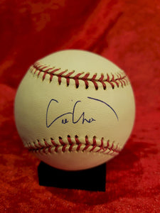 Eric Chavez Certified Authentic Autographed Baseball