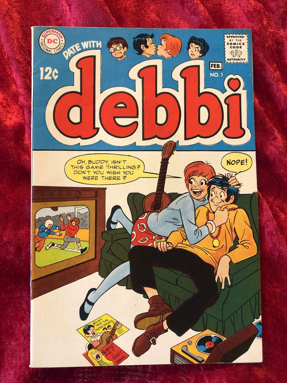 Debbi #1 1969 Comic Book