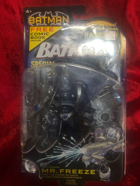 Mr. Freeze Action Figure