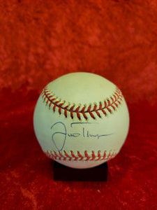 Justine Thompson Guaranteed Authentic Autographed Baseball