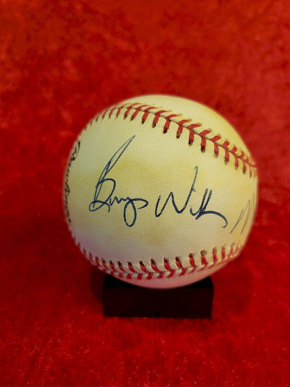 Maury Wills Guaranteed Authentic Autographed Baseball