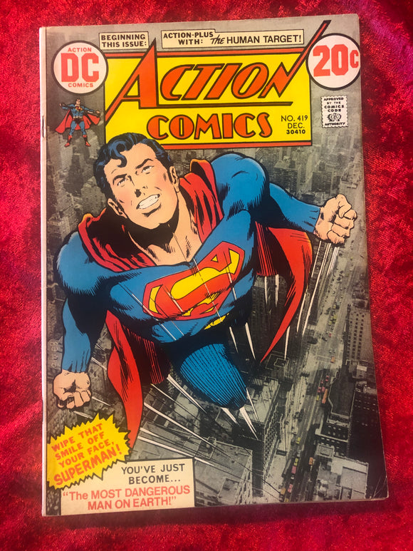 Action Comics #419 1972 Comic Book
